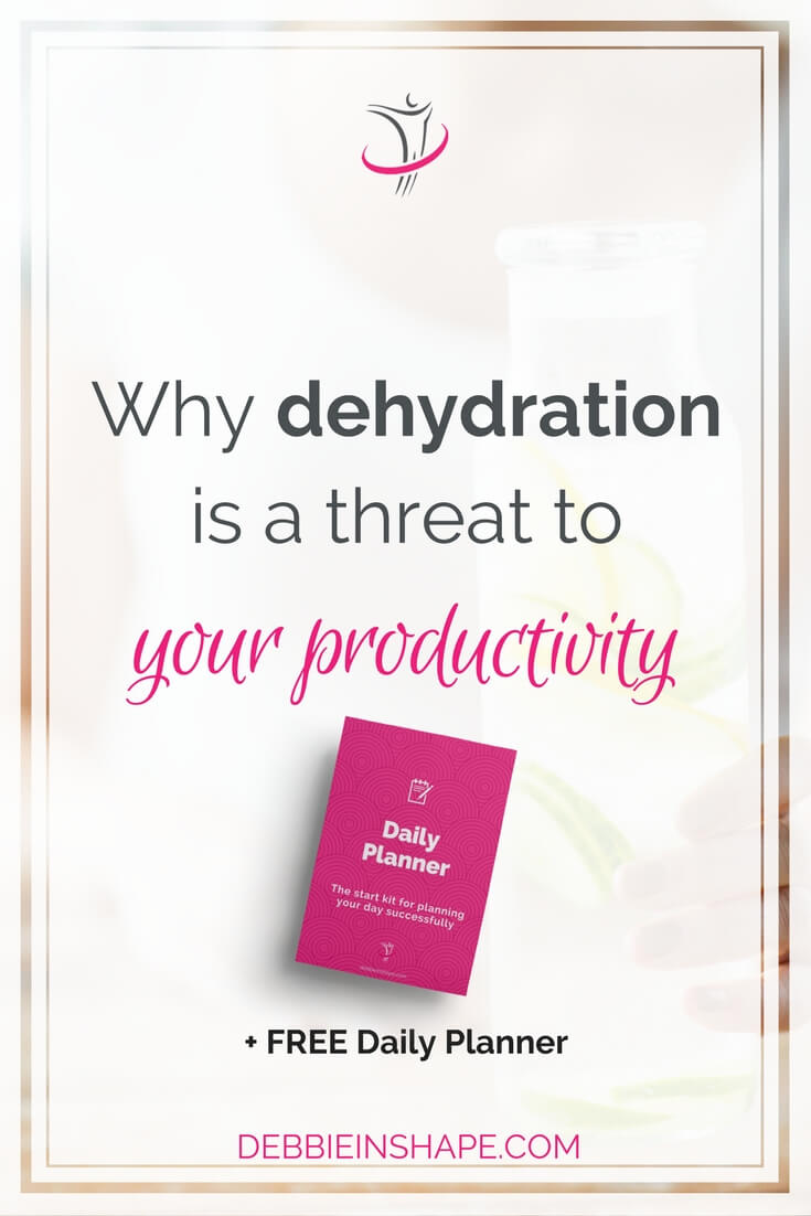 Understand how damaging the combo dehydration and productivity is to start working on it for your health and efficiency. Read more on the blog!