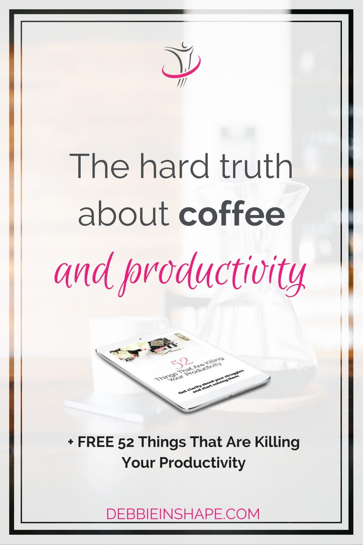 The hard truth about coffee and productivity may surprise you. It might be the missing link to maximizing your efficiency.