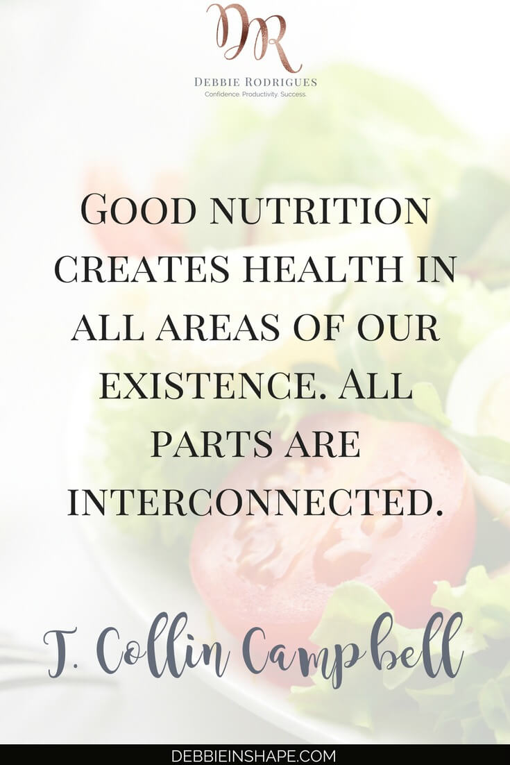 Find time to eat healthy and boost your productivity. Eating can't be seen as a waste of time. Learn how to use food as fuel for your health, wellness, and efficiency. Read all about it on the blog today, and join the 52-Week Challenge For More Productive You for support and accountability. #productivity #confidence #success #diet #health #quote