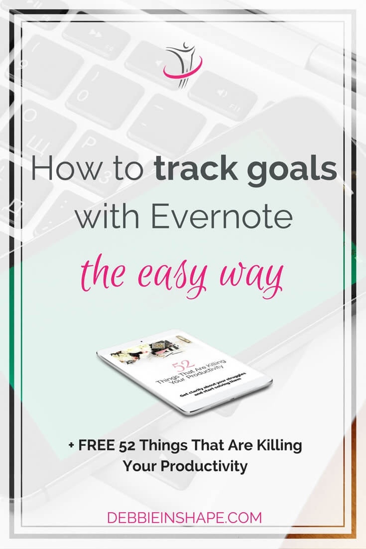 Don't lose sight of your objectives. Discover how you can track goals with Evernote to become more efficient. Learn how to on the blog and grab your FREE templates.