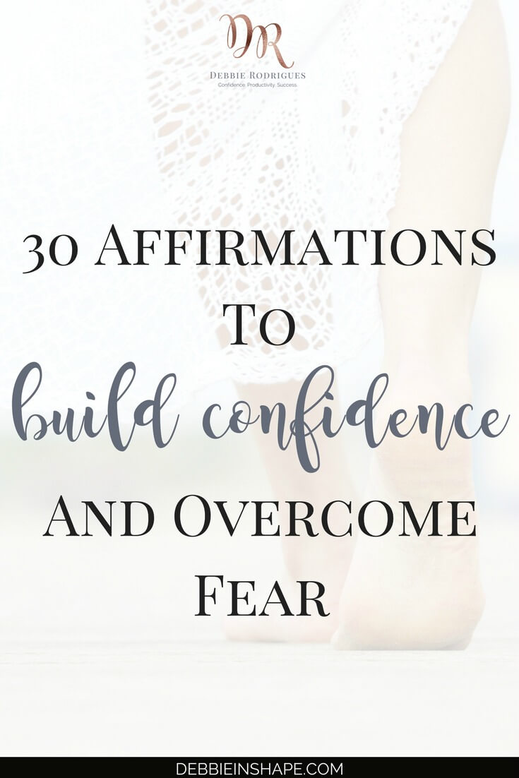 Affirmations to build confidence are an effective way to overcome fear. Read how you can become a better version of yourself with Affirmations To Build Confidence and learn how you can improve your mindset wherever you are. #productivity #confidence #success #journaling #affirmations