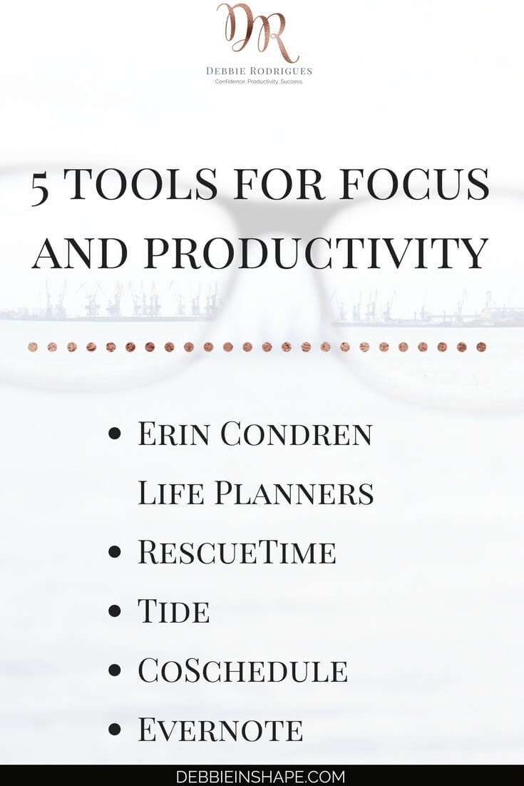 Discover how to be more productive with my favorite tools. Read all about them on the blog! Join my FREE VIP Tribe and to get the guidance and support you need to achieve your Dreams. #productivity #confidence #success #journaling #focus
