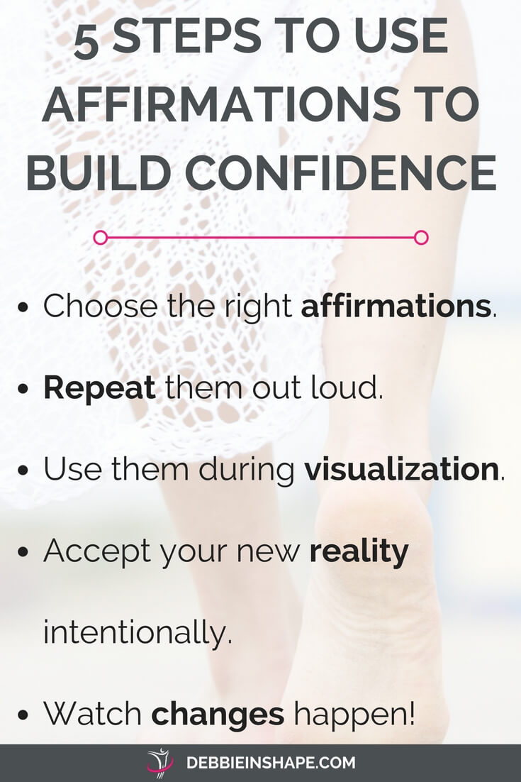 5 Steps To Becoming Wealthy: 30 Affirmations To Build Confidence And Overcome Fear