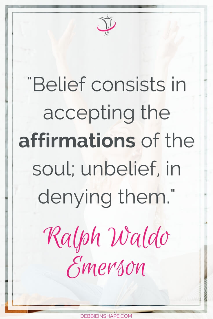 Learn how to use affirmations to overcome fear. Read it on the blog!