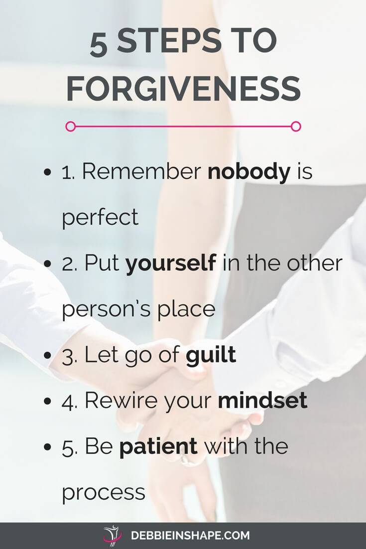 Discover how to improve yourself by being more forgiving. Learn how on the blog.
