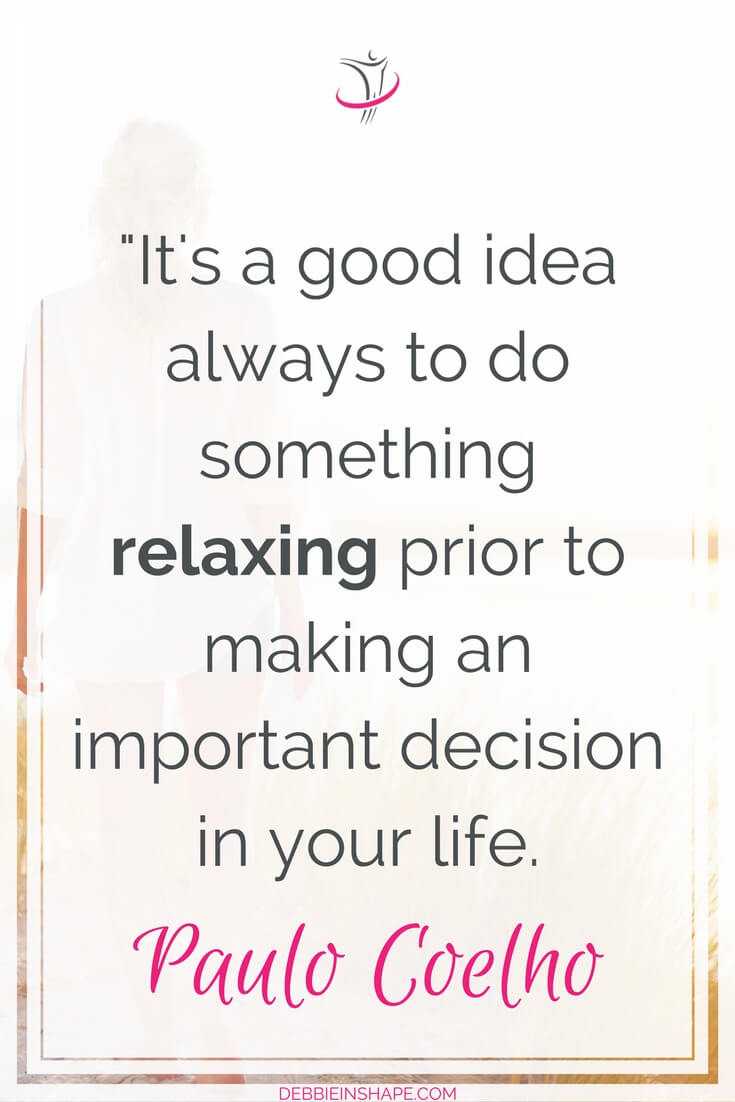 Want to be successful? Remember to relax! If you want to learn exactly how, read the blog today.