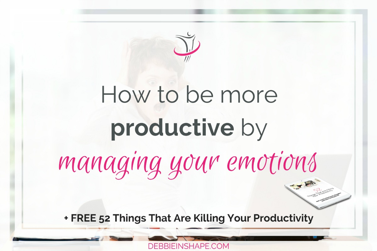 How To Be More Productive By Managing Your Emotions5 min read