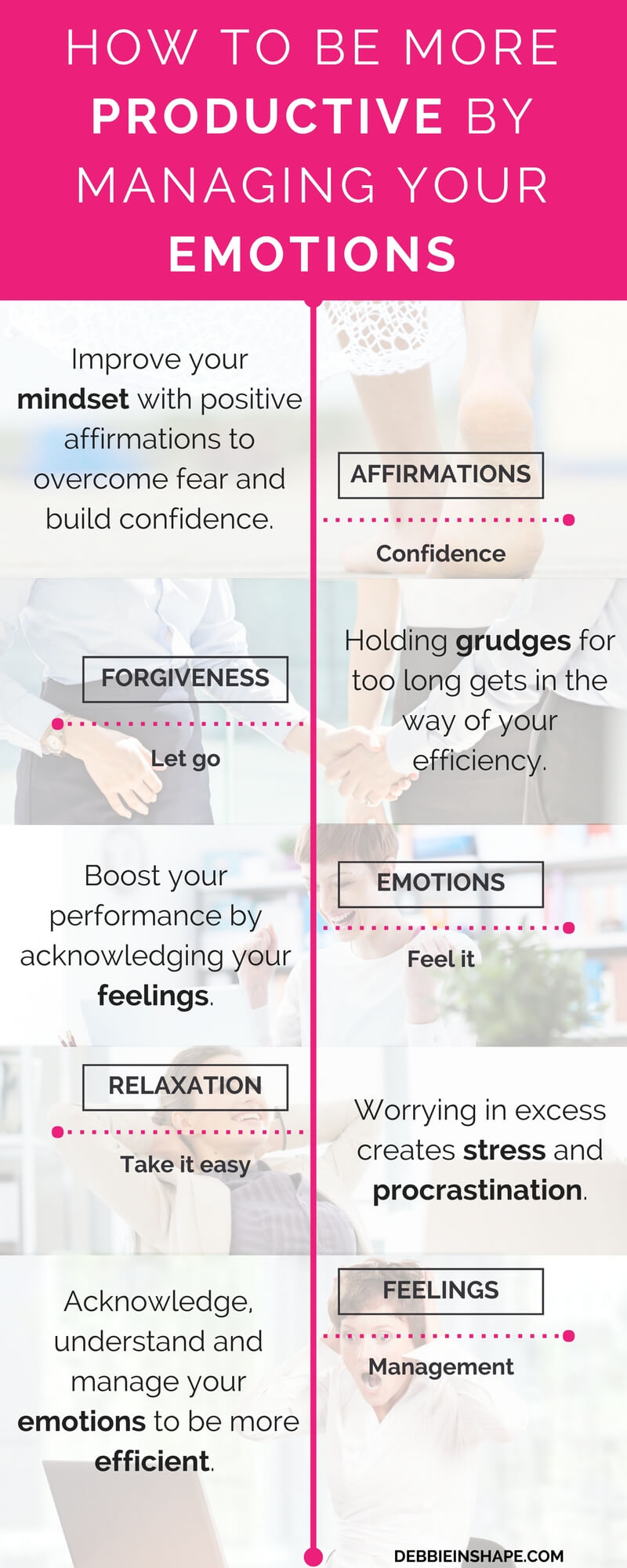 How to improve your efficiency with your emotions. Learn exactly how it works on the blog!
