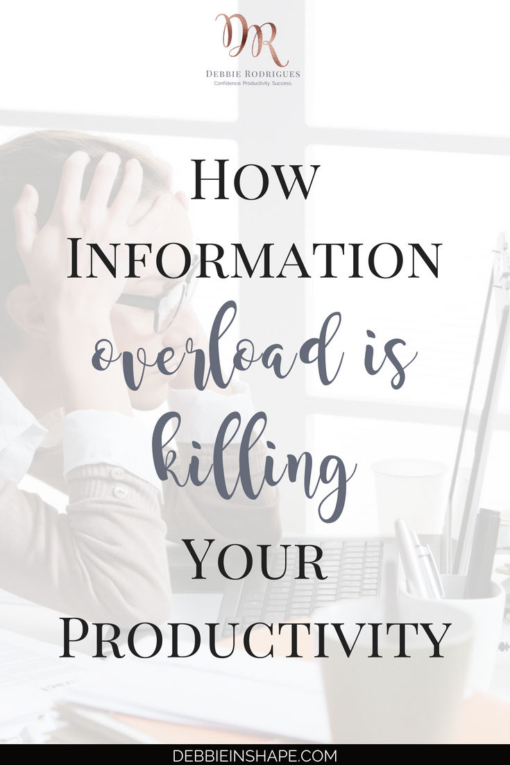 Information overload is killing your productivity. Understand how infobesity works and what you need to do to stay in control. Join the 52-Week Challenge For A More Productive You and learn how to stay up to date without losing your soul. #productivity #confidence #success #journaling #mentalhealth