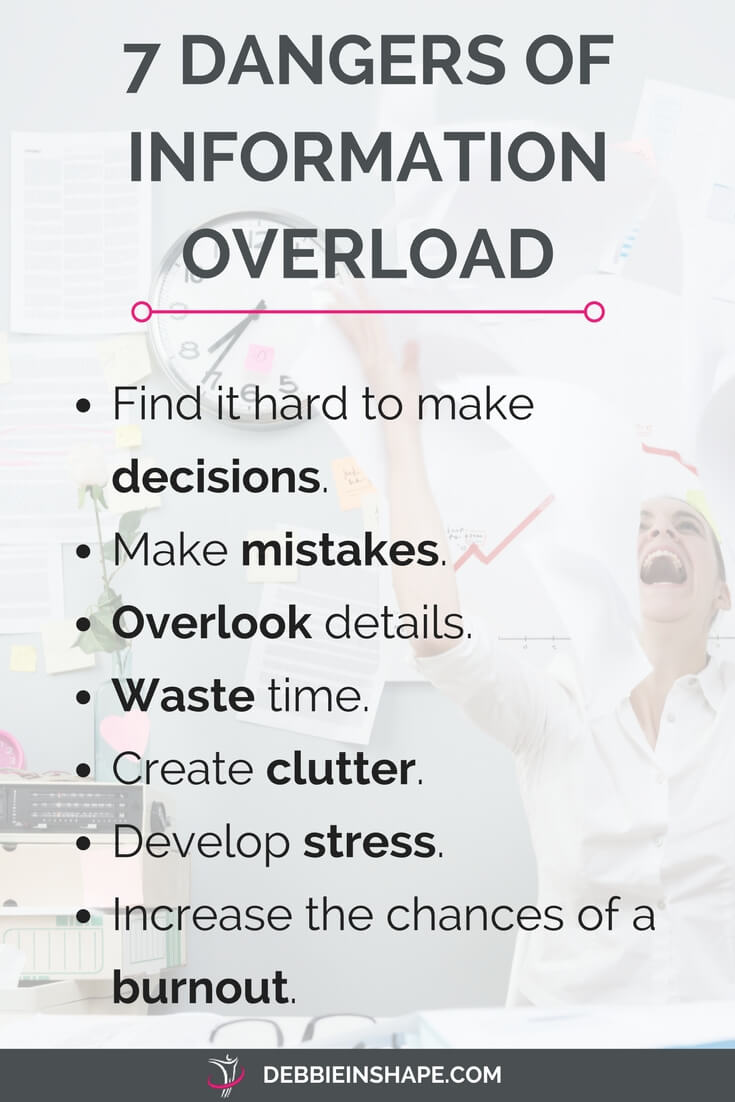 Avoid these infobesity dangers to be more productive. Also learn how you can deal with information overload today with 10 practical steps. Join a community of mindful planners and start improving your efficiency one day at a time without stress all for FREE.
