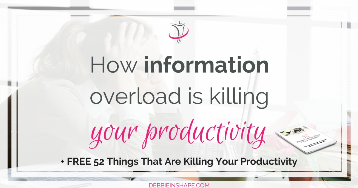 Information overload is killing your productivity. Understand how infobesity works and what you need to do to stay in control. Apply the 10 practical steps you find on the blog and learn how to stay up to date without losing your soul.