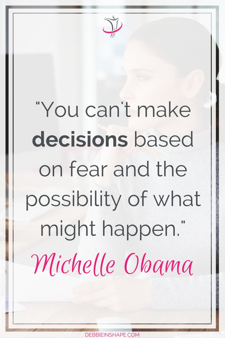Don't let fear get in the way of your productivity. Learn how to overcome indecision on the blog.