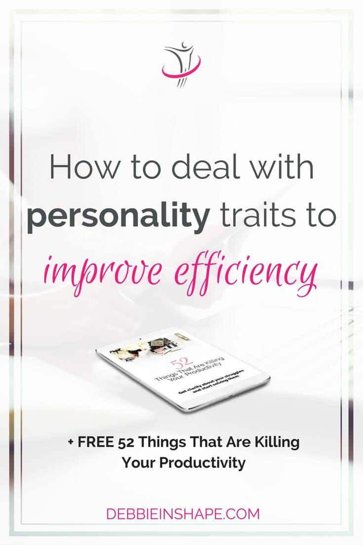 The role of personality traits in productivity is of great importance. You can make or break of efforts depending on them. Break free from what is blocking your success one day at a time. Learn all about it on it the blog.