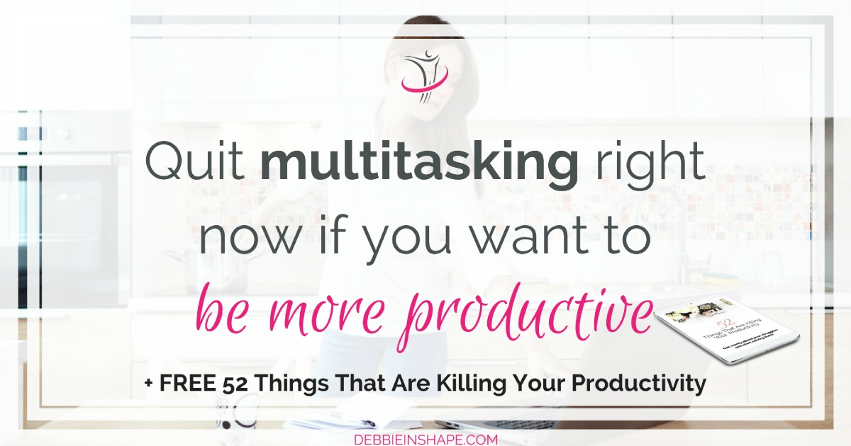 When you quit multitasking it's like breaking free from The Matrix. Learn the reality of switch-tasking and stop doing it for the sake of your efficiency on the blog today.