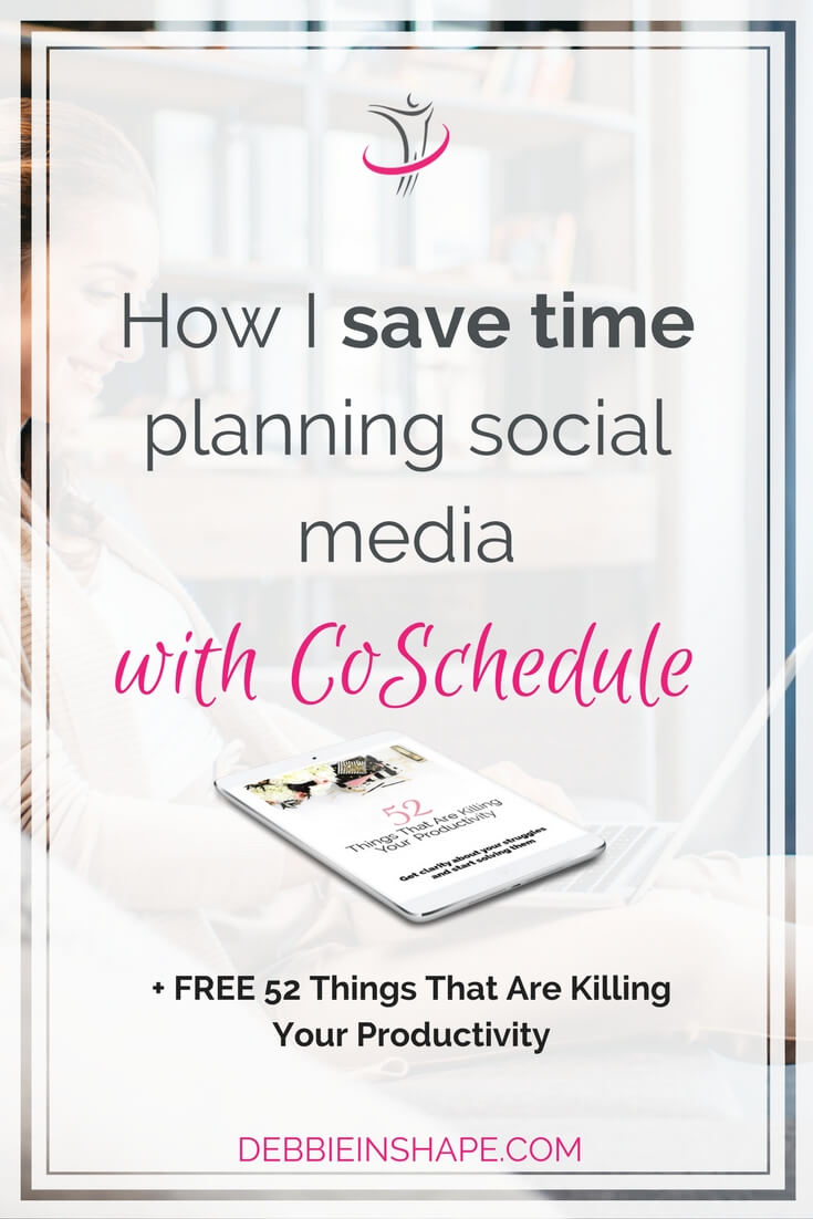 Learn how you can save time planning social media to boost your efficiency and online presence with CoSchedule today. Discover how you can take advantage of their new features to get more done in less time. And if you want to boost your productivity in other areas of your life, join the 52-Week Challenge For A More Productive You today. Read all about it on the blog.