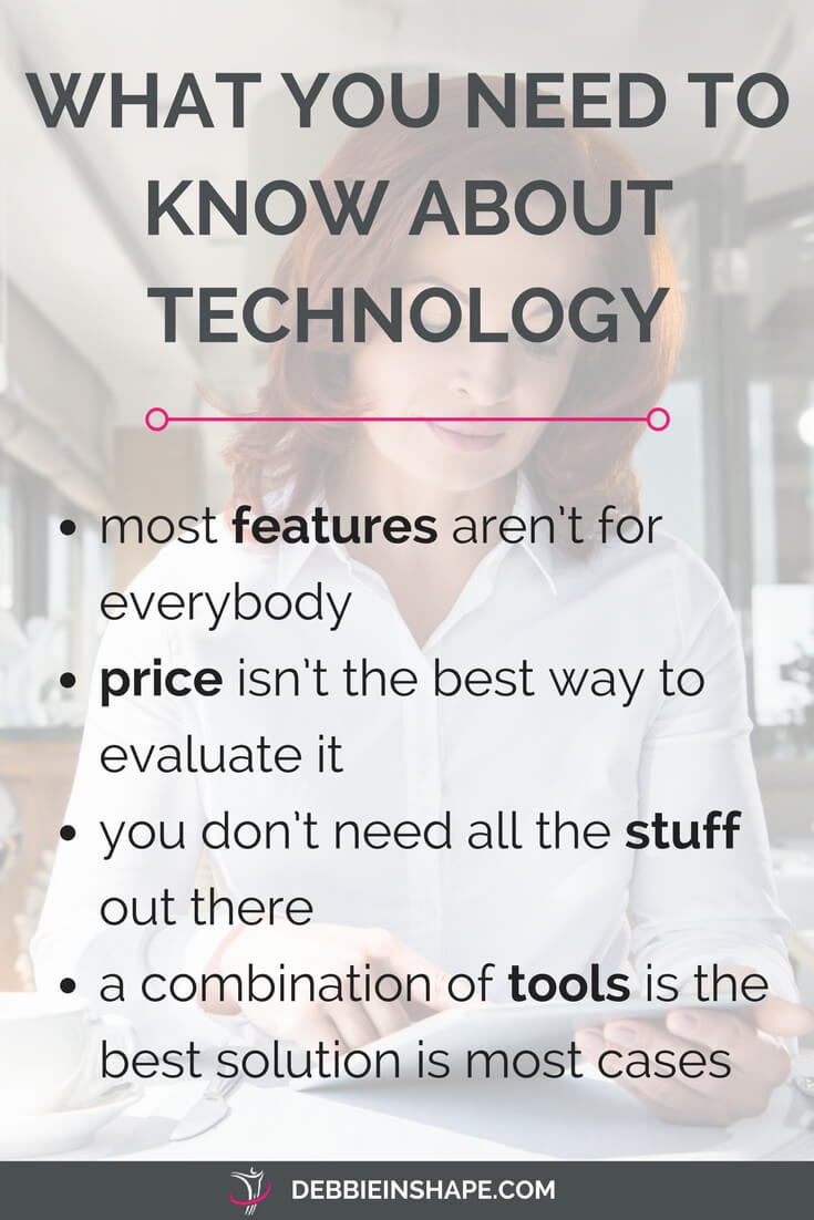 """Discover everything you need to know about technology. Don't get caught up with shiny """"stuff"""" that won't help you get closer to your goals. Overcome procrastination and become more productive one day at a time without stress. For accountability and support, join the 52-Week Challenge For A More Productive You today."""