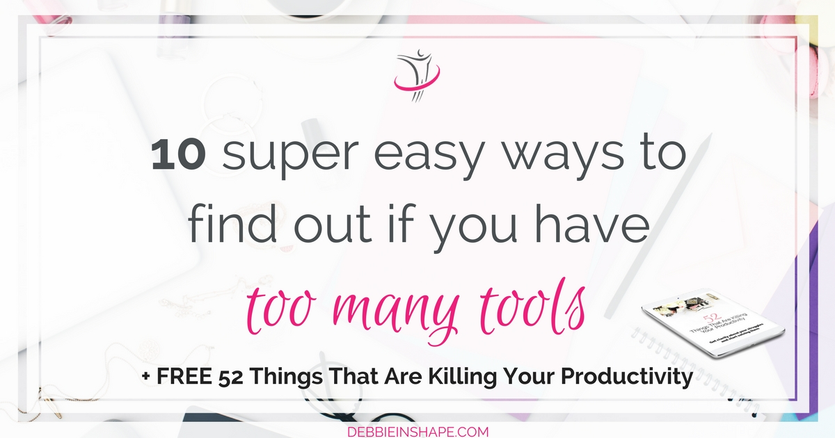 Discover why you don't need to have too many tools to be more productive and achieve your dreams one day at a time. Learn how you can boost your efficiency, stay on track, and get all the support you need by joining my FREE VIP Tribe today.