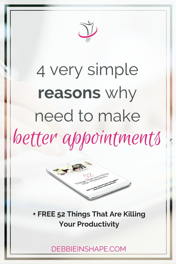 We all need to make appointments on a regular basis. Whether personal or professional ones, there's always a way to make them better. Find out how you can improve your meetings and free valuable time every day with Mindful Planning. Read all about it on the blog. #productivity #confidence #success