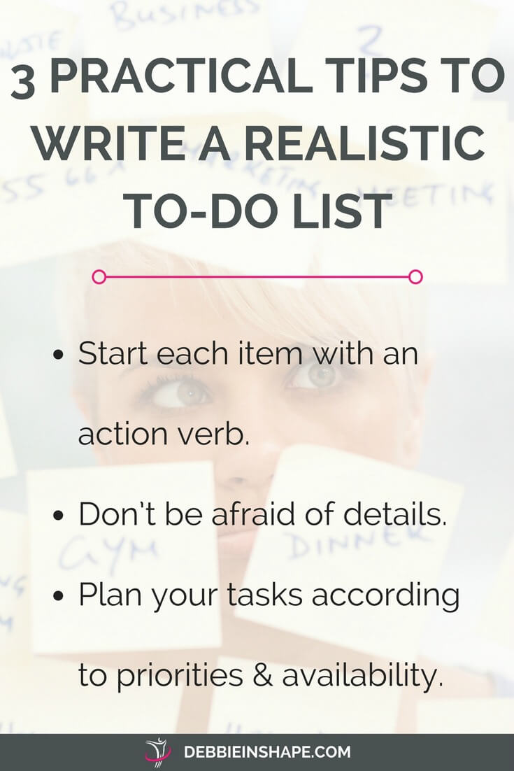 Check these practical tips to a successful to-do list. Change the way you organize your tasks to accomplish more without feeling overwhelmed. Join my FREE VIP Tribe and become a member of an awesome group of achievers for motivation, accountability, and support. #productivity #confidence #success #planning