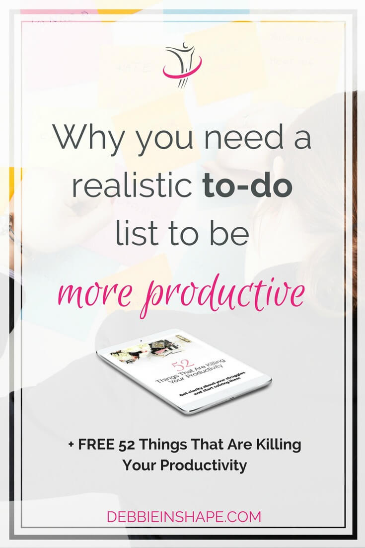 We need a realistic to-do list to be more productive. But what does it mean? Read these practical tips to help you get the results you want. And to make sure you stay on track going forward, join my FREE VIP Tribe. And awesome community of high-achievers for support, accountability, and motivation. #productivity #confidence #success #planning