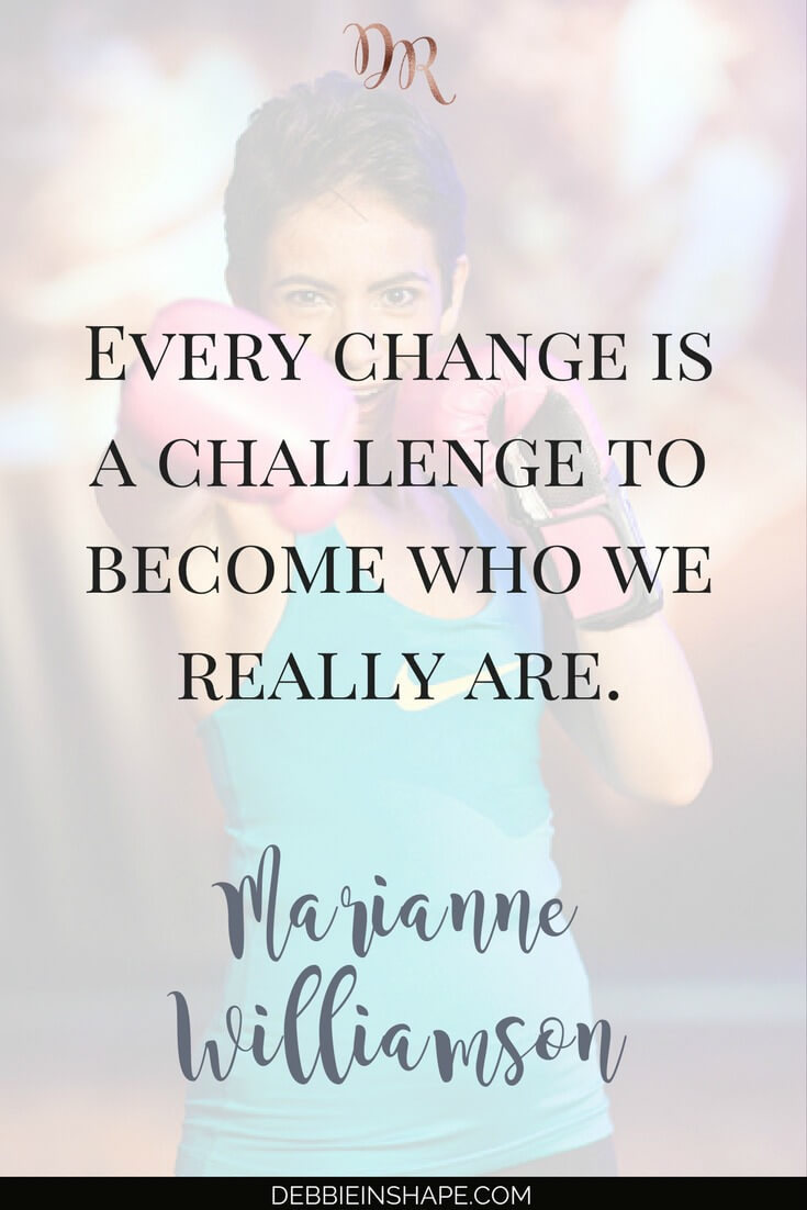 Learn how to change for better one day at a time. Achieve better results without feeling stressed and overwhelmed all the time. Join the 52-Week Challenge For A More Productive You to get clarity about your goals and make room in your schedule for the things that truly matter. #productivity #confidence #success #challenge #beforeandafter #community #support #accountability #motivation #quote