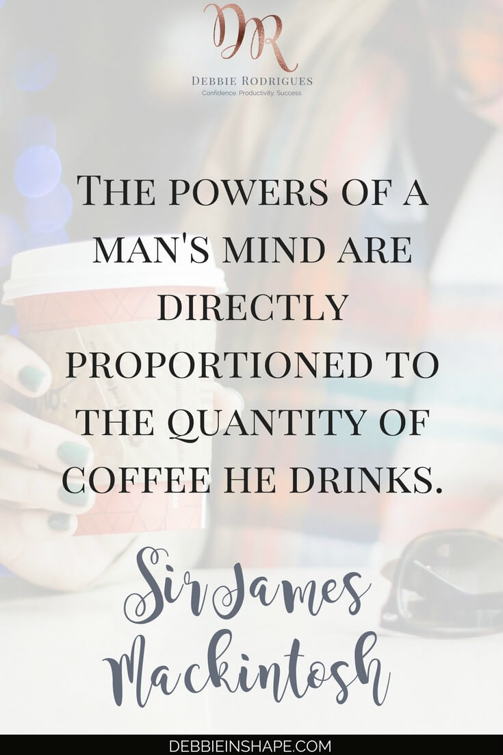How to know how much coffee is really good for you. Because too much of a good thing is still too much. Stay on track with your goals and create space in your schedule for what you love with the 52-Week Challenge For A More Productive You. #productivity #confidence #success #health #coffee