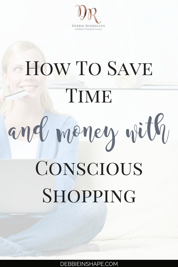 In times when we talk about being more with less, let's have a look at how conscious shopping can also help us become more efficient. Join the 52-Week Challenge For A More Productive You and learn how to save time and money, one day at a time, with Mindful Planning. #productivity #confidence #success #minimalism @nomadostore