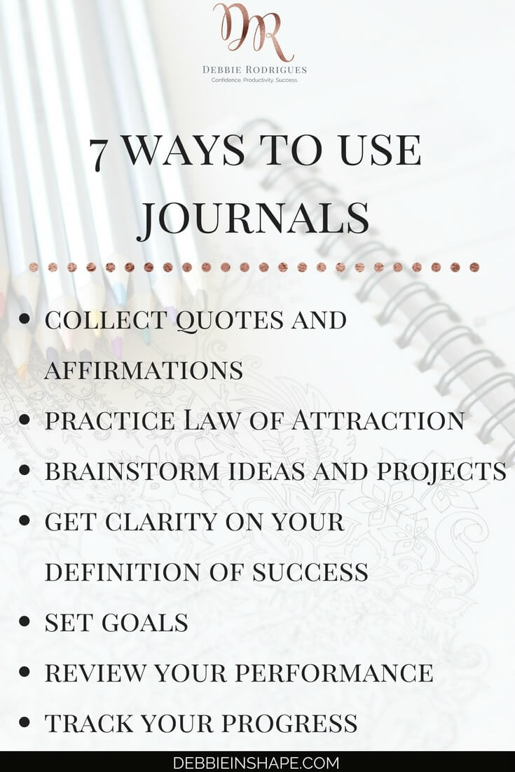 Discover how to make the most out of your daily notes. Take full advantage of your journal to improve all areas of your life. Join the 52-Week Challenge For A More Productive You and get all the support, motivation, and guidance you need to achieve your goals one day at a time without stress. #productivity #confidence #success #journaling #intention