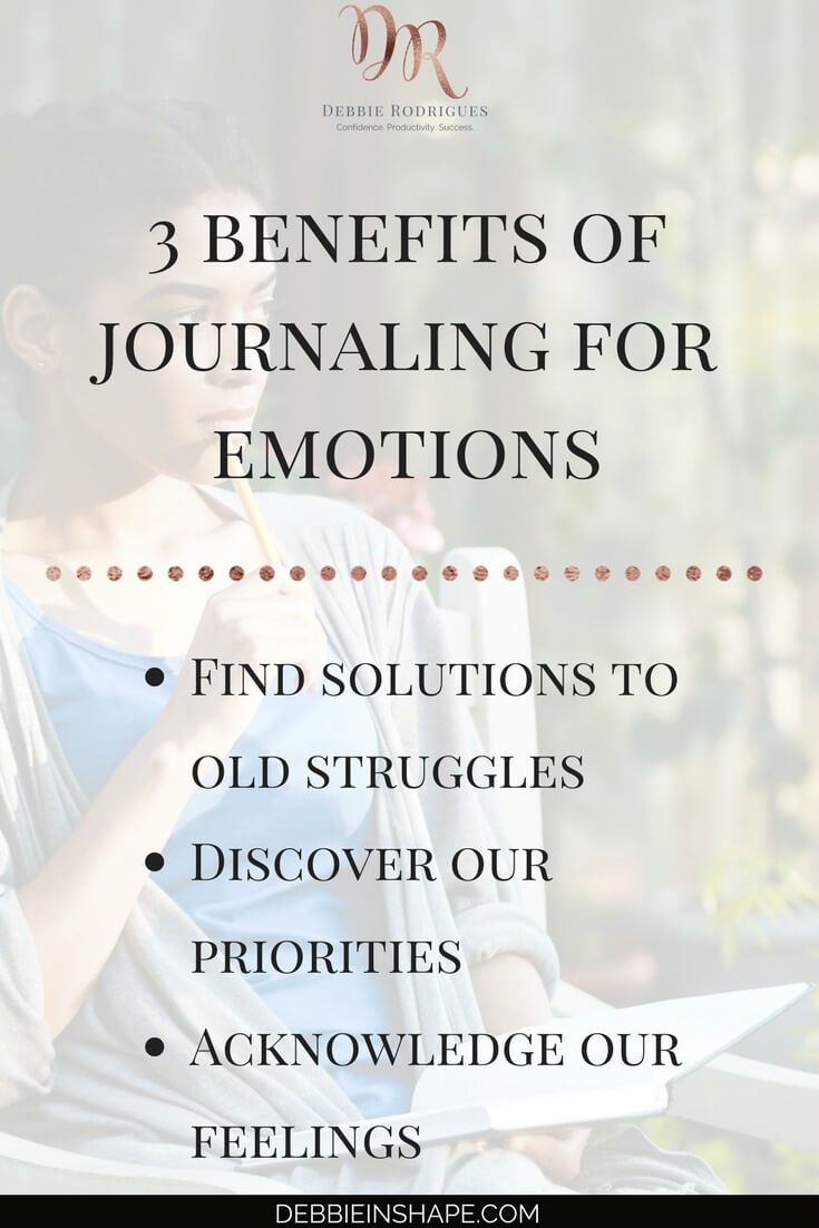 Discover how to make your journal help you manage your emotions. Learn how to use the power of your feelings to boost your confidence and achieve your goals. Come to the 52-Week Challenge For A More Productive You today and receive all the support you need. #productivity #confidence #success #journaling #emotions