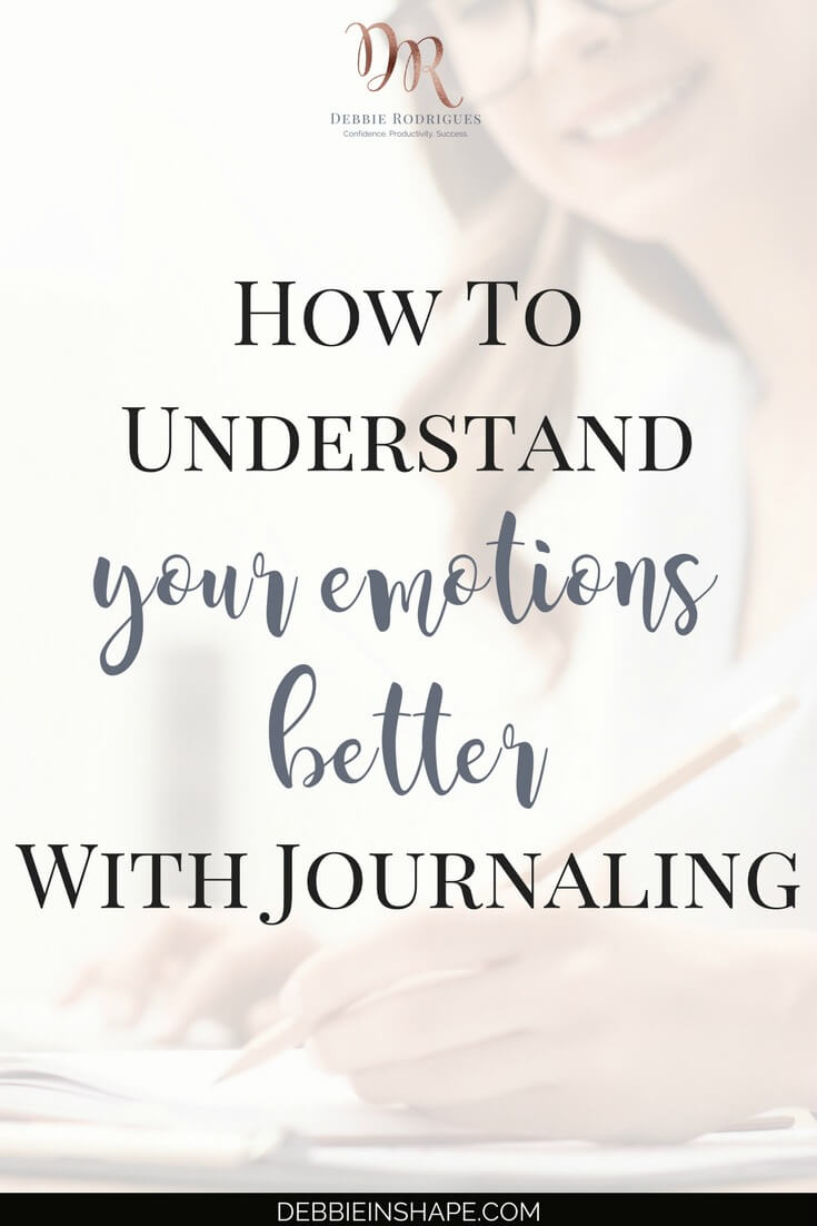 Discover the benefits of figuring out your emotions better with journaling. Learn how to you can get the most of it too. Learn how to let go of negative self-image one day at a time with the 52-Week Challenge For A More Productive You. #productivity #confidence #success #journaling #emotions