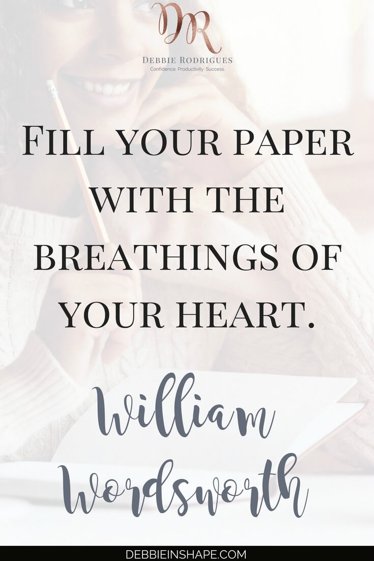 Learn how to journal from the heart to boost your self-esteem. Discover how to recognize the influence of your emotions in your life. Join the 52-Week Challenge For A More Productive You and get all the support and motivation you need to become a better version of yourself. #productivity #confidence #success #journaling #emotions #quote