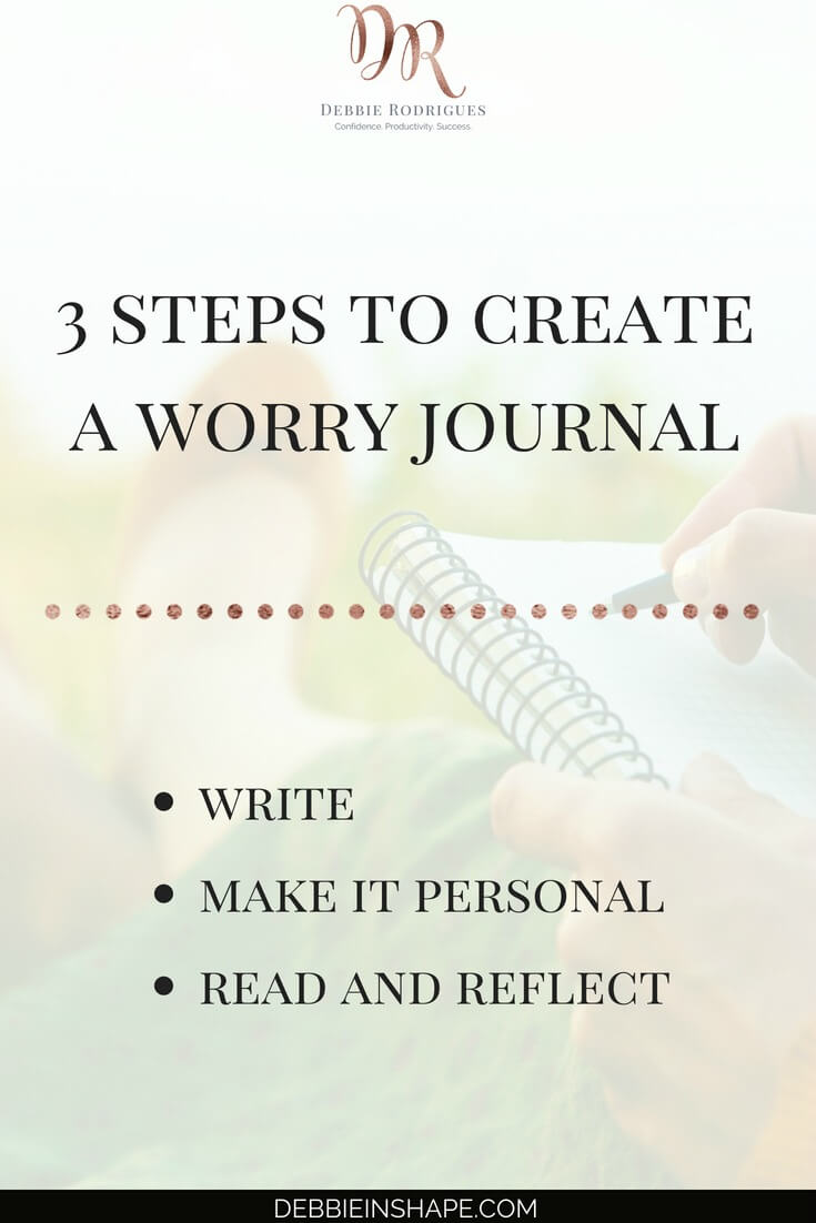 How to start a Worry Journal the easy way. Don't let social media get in the way of your Personal Development. Come to the 52-Week Challenge For A More Productive You and get all the information and support you need to become a better version of yourself one day at a time. #productivity #confidence #success #journaling #mentalhealth