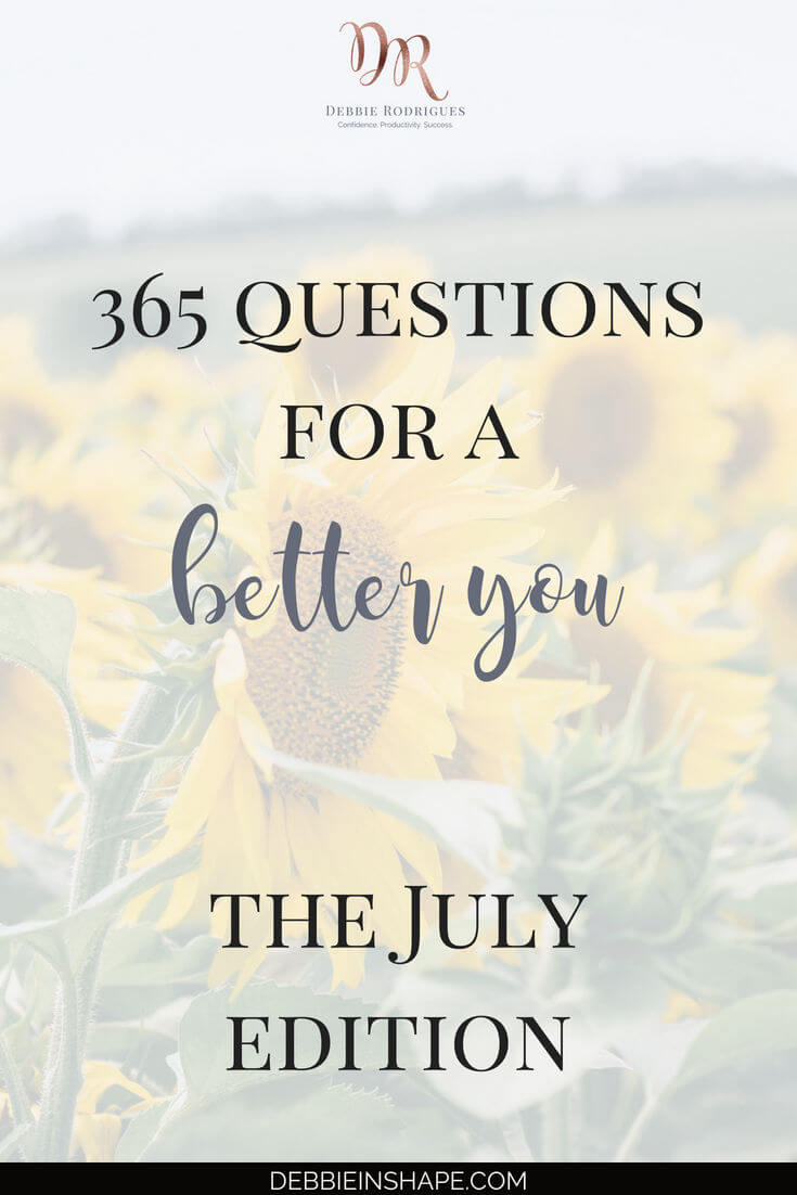 We're back for the 365 Questions For A Better You, the July edition. This month, let's talk about how you can use different journals for brainstorming. Join my FREE VIP Tribe to access all prompts in one place. #productivity #confidence #success #personaldevelopment #journaling #prompts #365questionsforabetteryou