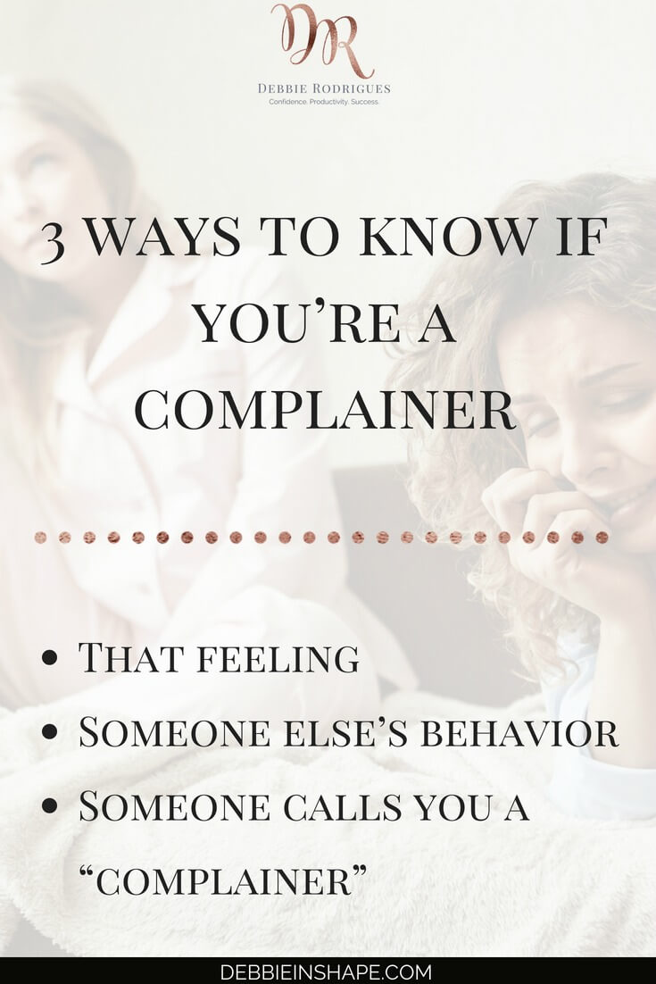 Discover how to spot the complainer in you with journaling. Become a better version of yourself and change your habit of nagging with a daily review. Come on over to the 52-Week Challenge For A More Productive You and get all the support you need to make it happen one day at a time without stress. #productivity #confidence #success #journaling #mentalhealth