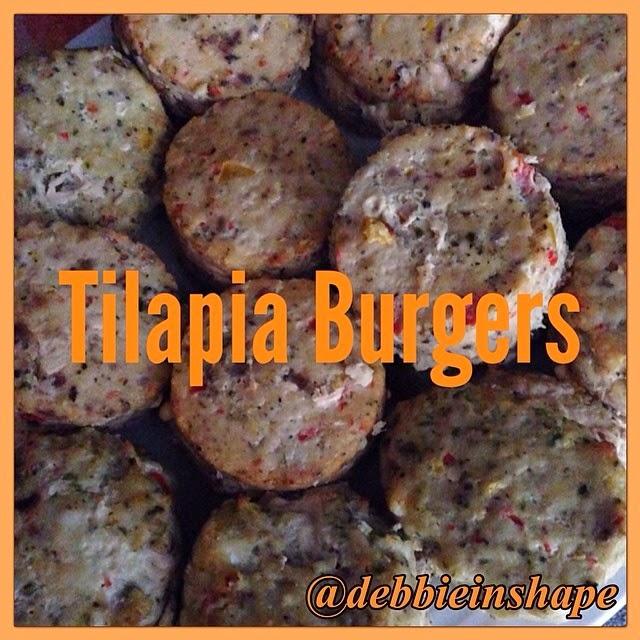 Tilapia Burgers.