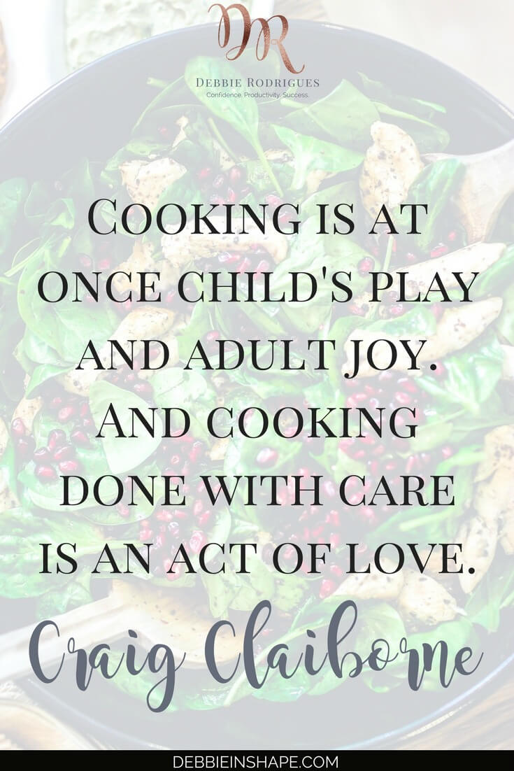 Discover how to enjoy cooking in bulk. Save time, money, and energy while creating space in your schedule for other things by preparing food in large quantities. If a can't-cook like myself enjoy it, so can you. Join the 52-Week Challenge For A More Productive You today for support and accountability. #productivity #confidence #success #weightloss #mealplanning #quote