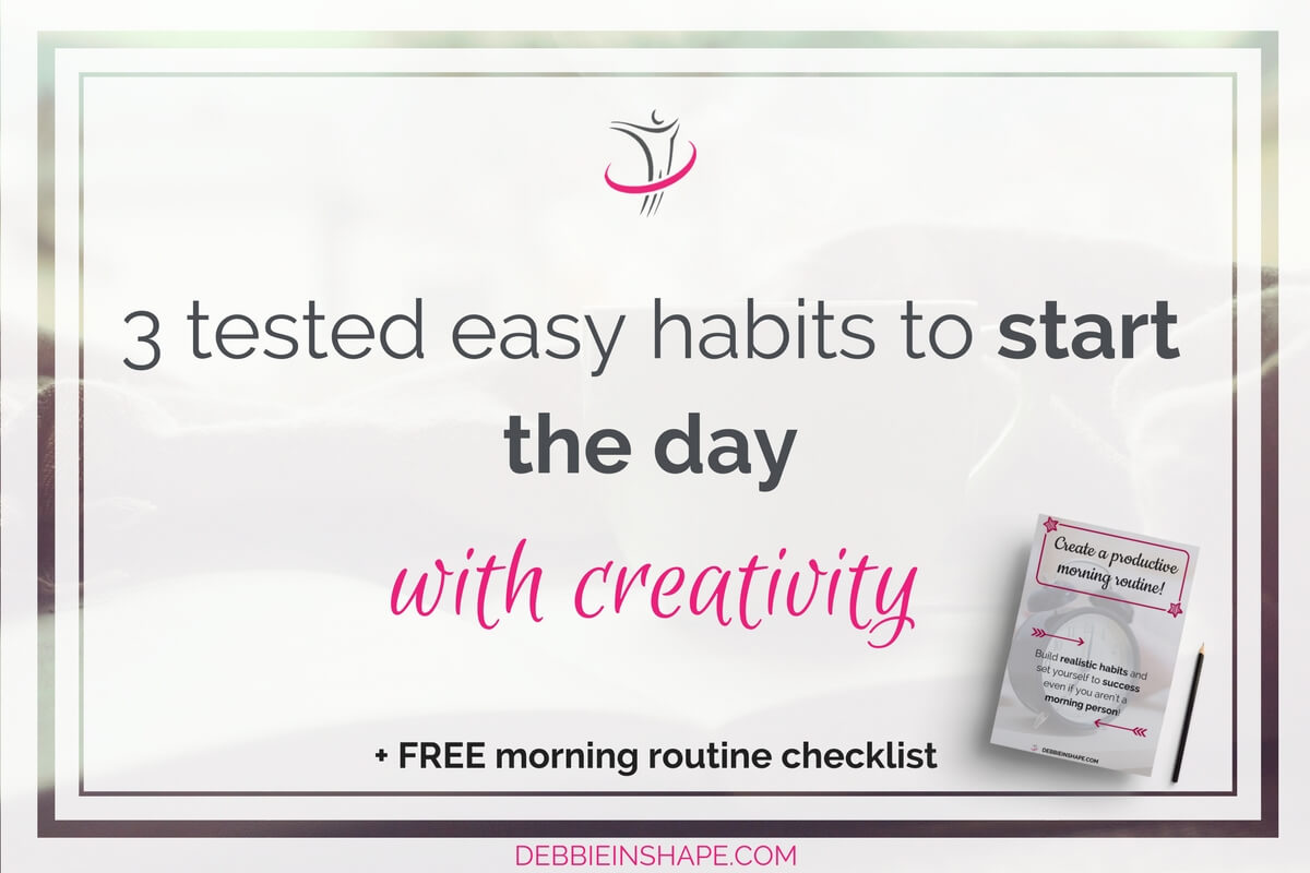 Here are 3 tips to help you start your day with creativity even if you aren't a morning person. Boost your productivity with new ideas.