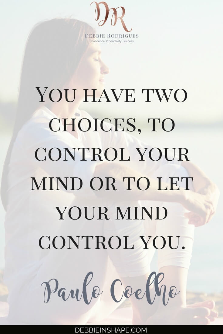 How to be in control of your mindset to achieve your goals with success. Discover old mindsets that may be blocking your progress and learn how to overcome them. Join the 52-Week Challenge For A More Productive You and receive all support and motivation you need to make your dreams come true. #productivity #confidence #success #lifestyle