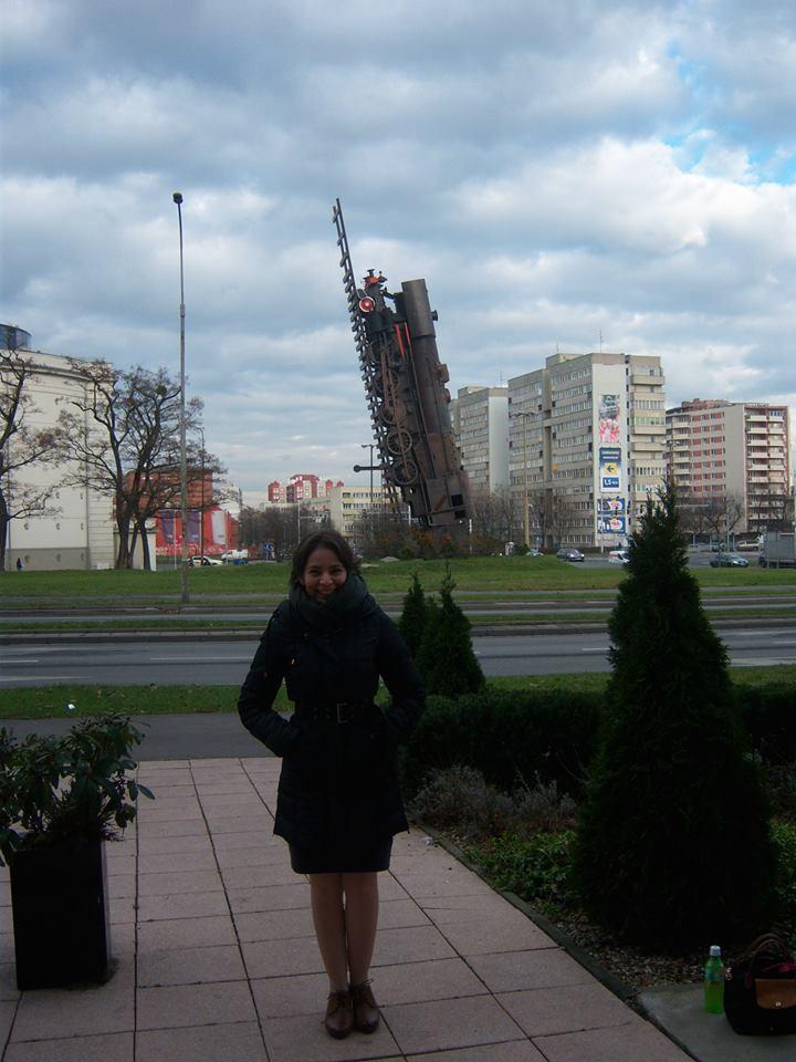 Wroclaw 2014 - Train to Heaven.