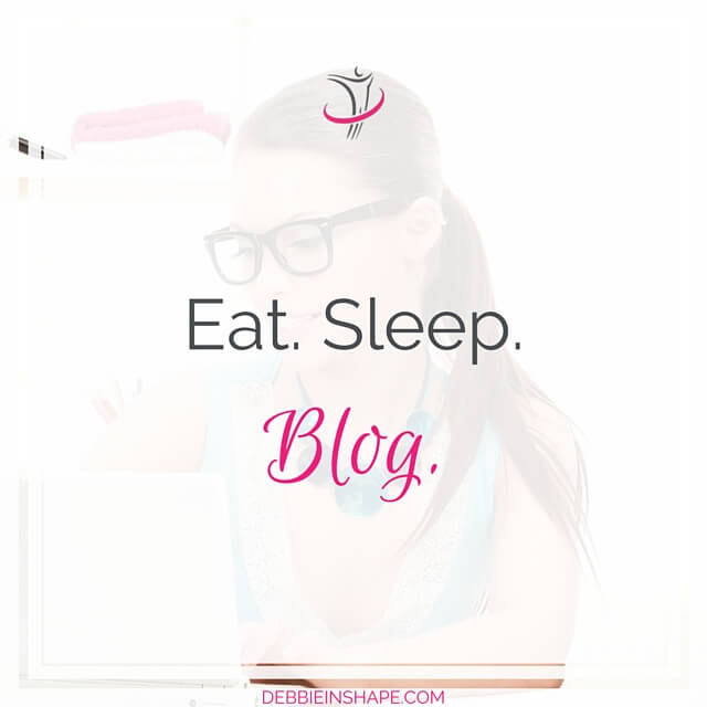 Eat. Sleep. Blog.