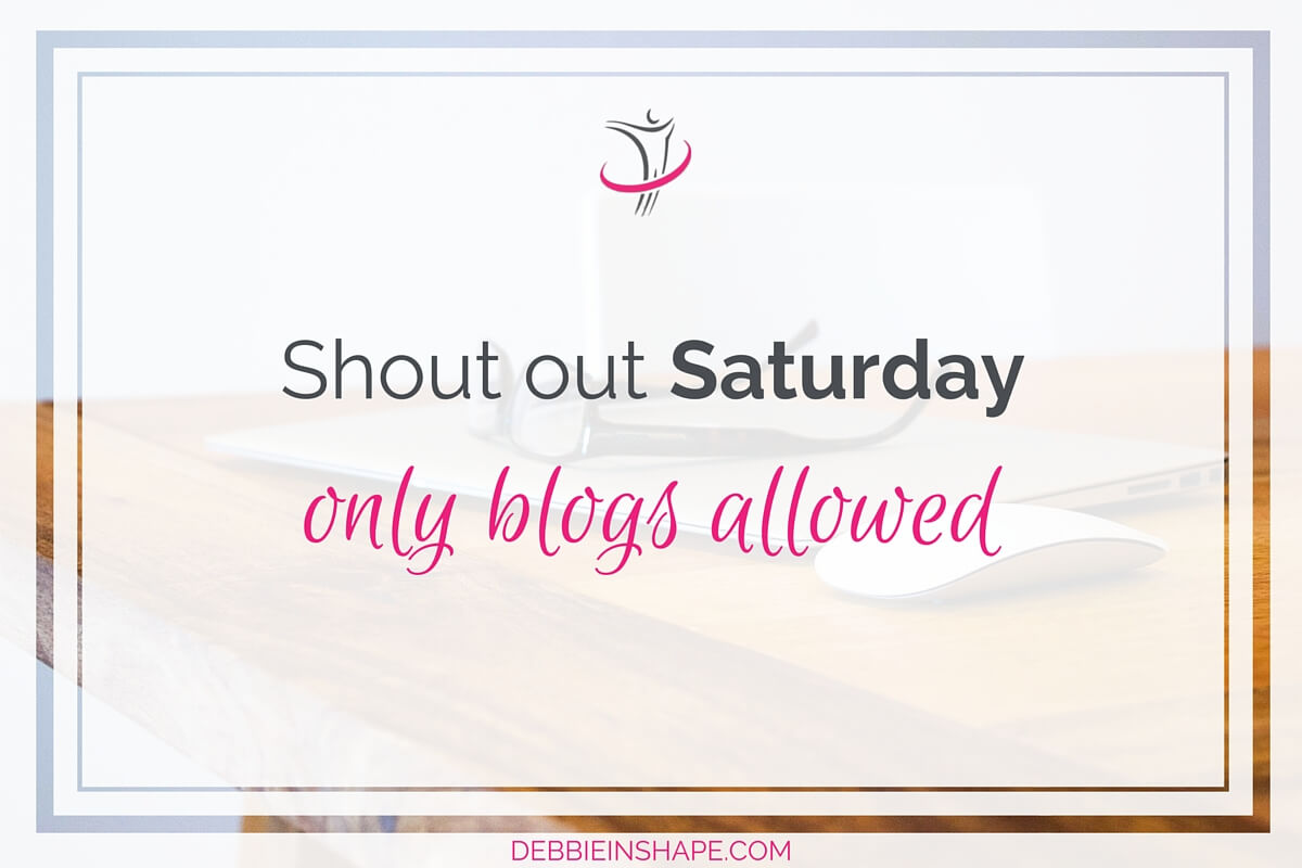 Shout Out Saturday Only Blogs Allowed