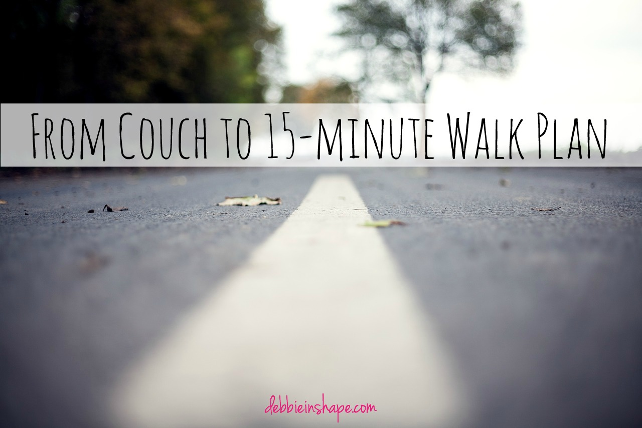 From Couch to 15-minute Walk Plan
