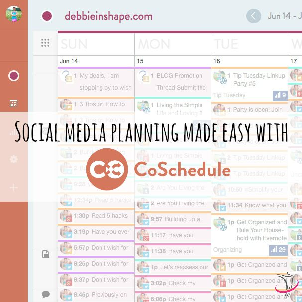 Social Media Planning Made Easy With CoSchedule.