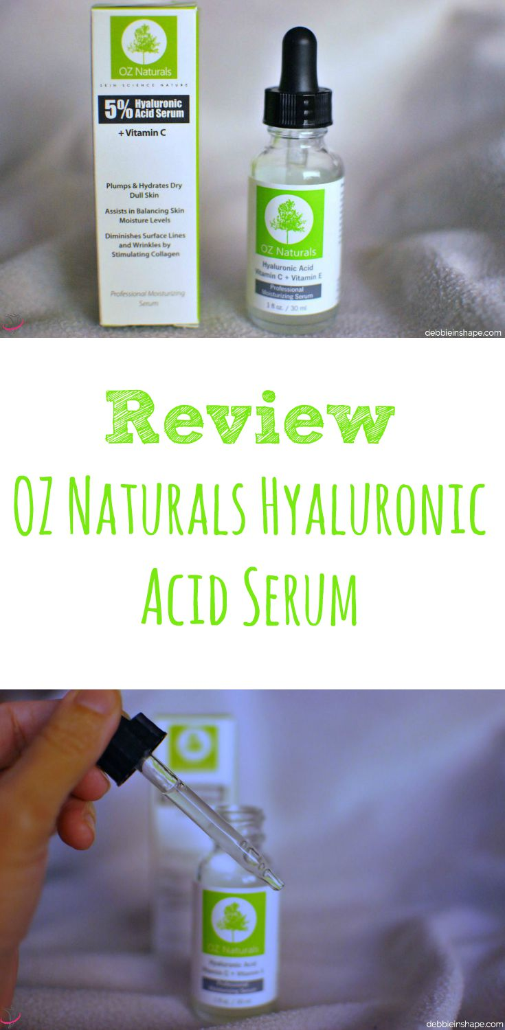 Review: OZ Naturals Hyaluronic Acid Serum.
