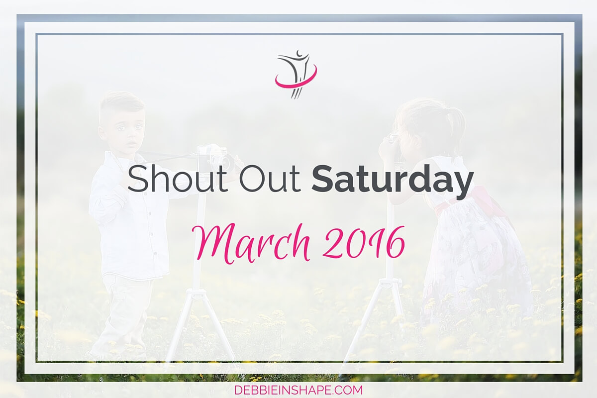 Shout Out Saturday March 20164 min read