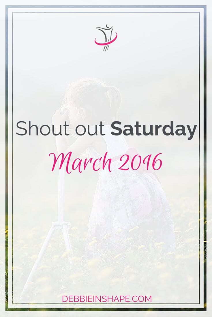 Shout Out Saturday March 2016.