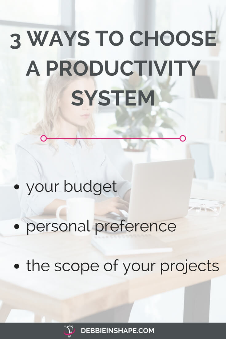 Learn how to choose the best system for you. Don't waste money with tools that don't meet your expectations. Join my FREE email course 5 Days To Mindful Planning and discover the right way to define a successful strategy.