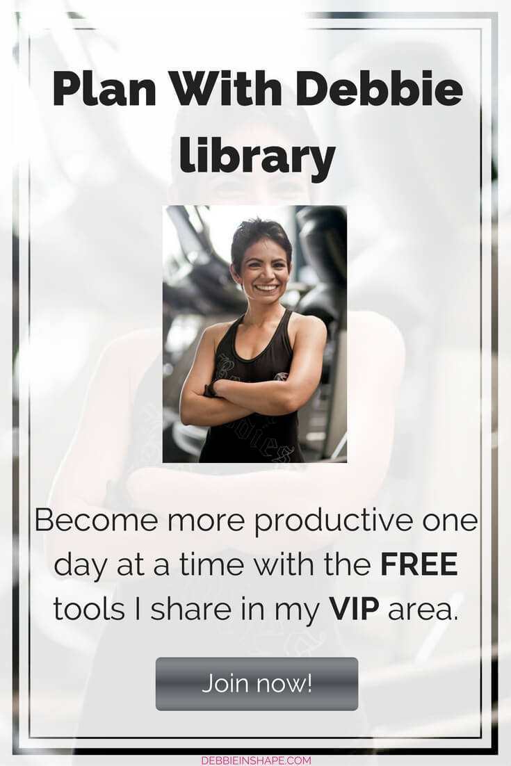 Become more productive one day at a time with the FREE tools I share in my VIP library. Join now!