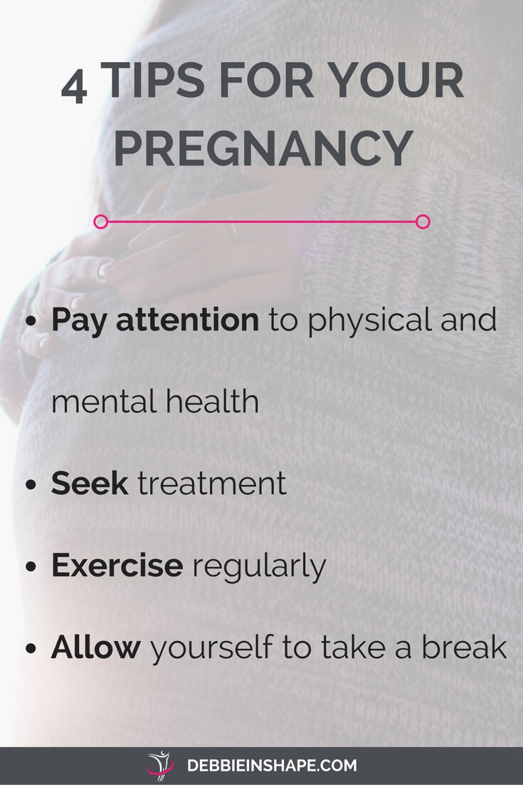 Check these 4 tips for a healthy pregnancy.