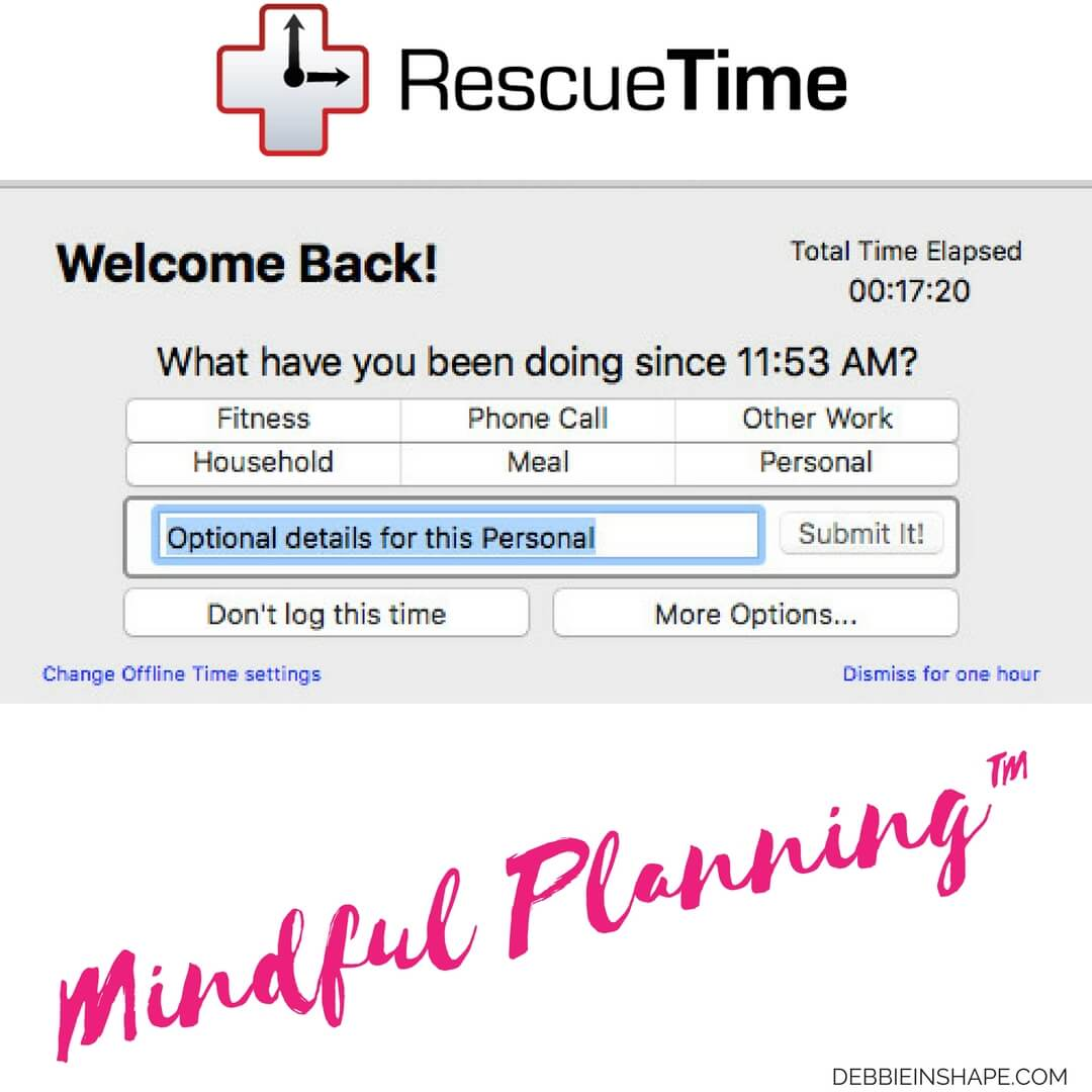 Install RescueTime on your computer today and learn how you start save time for the things you love.